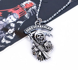Pendentif + chaîne sons of anarchy