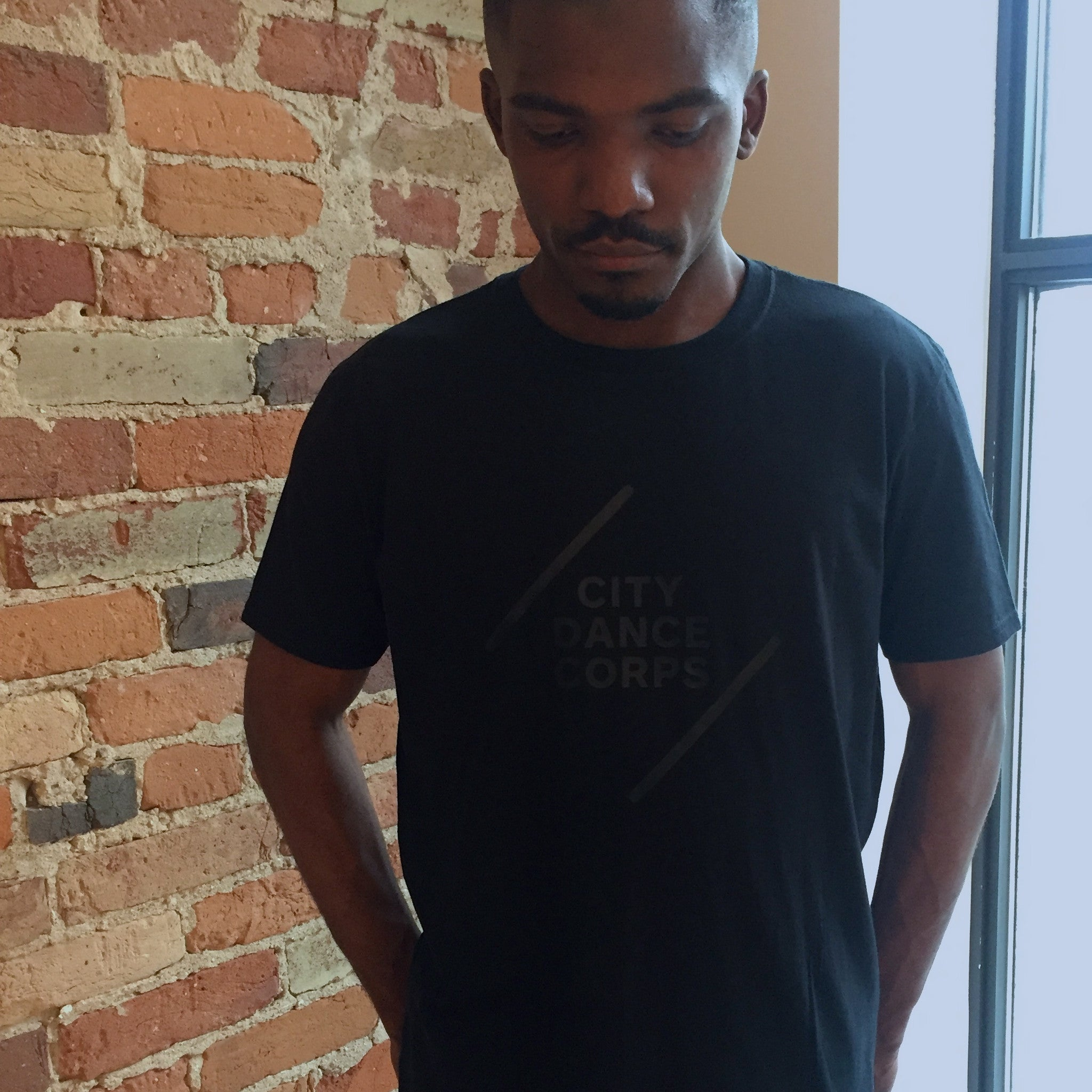 CDC All Black Everything Tee