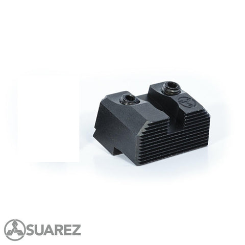 Suarez Suppressor Height Fiber Optic Sights for Glock Pistol