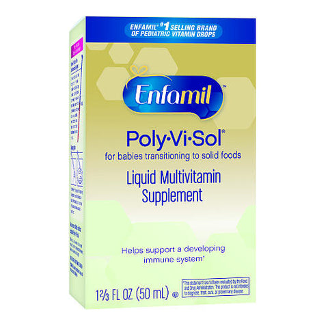 Enfamil Tri-Vi-Sol Infant Liquid Multivitamin Drops (50ml)