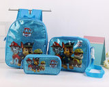 3 in 1 School Bag Set (Bag, Lunch Box and Pencil Case)