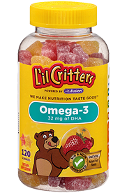 L'il Critters Children Omega-3 DHA Gummies (180 Ct)