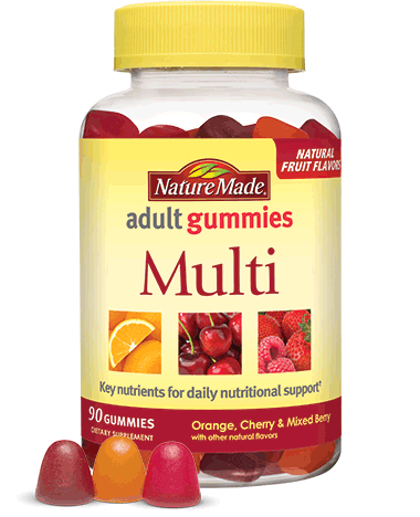 Nature Made Adult Multivitamin Gummies (180ct)