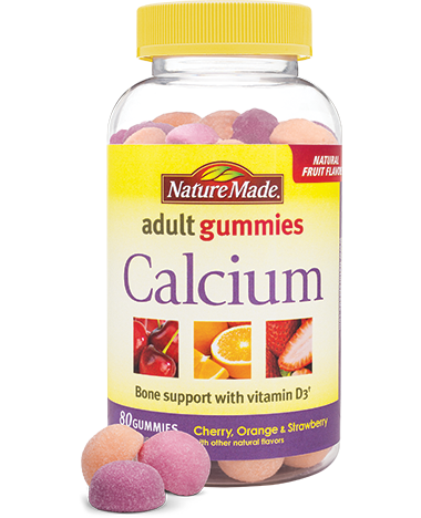 Nature Made Calcium Adult Gummies (100ct)