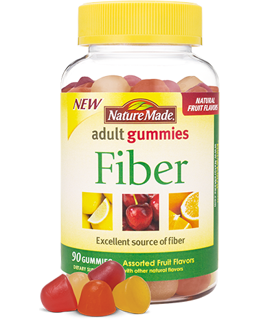 Nature Made Fiber Adult Gummies (90ct)