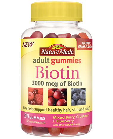 Nature Made Biotin Adult Gummies (180ct)