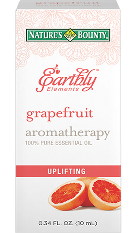 Natures Bounty Earthly Elements Grapefruit Essential Oil