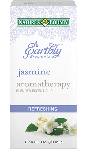 Natures Bounty Earthly Elements Jasmine Essential Oil