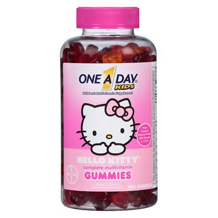 "One A Day Kid's ""Hello Kitty"" Multivitamin Gummies (180ct)"