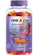 "One A Day Kid's ""Trolls"" Multivitamin Gummies (180ct)"