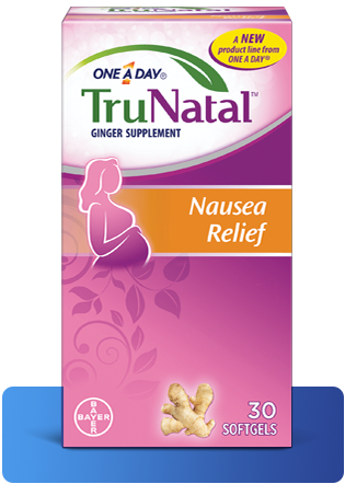 One A Day Women's TruNatal Nausea Relief Softgels (30ct)