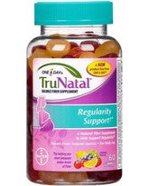 One A Day Women's TruNatal Regularity Support Gummies (70ct)