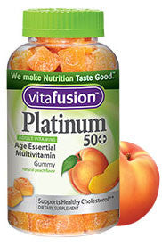 Vitafusion Platinum 50+ Mulitvitamin Gummies (100ct)