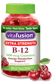 Vitafusion Adult Vitamin B-12 Extra Strength Gummies (200ct)