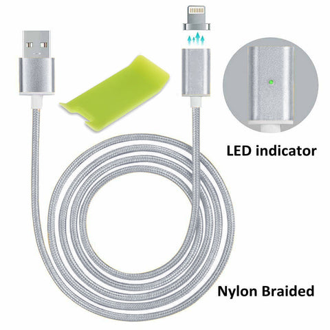 USB MAGNETIC CHARGER CABLE FOR IPHONE ANDROID