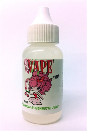 Vavavape Premium E-Cigarette Juice - Peaches N Cream 30ml - 18mg VP30-PNC18MG