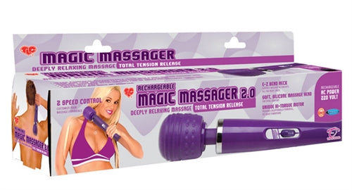 Tlc Rechargeable Magic Massager 2.0 - 220v Euro TS1077003