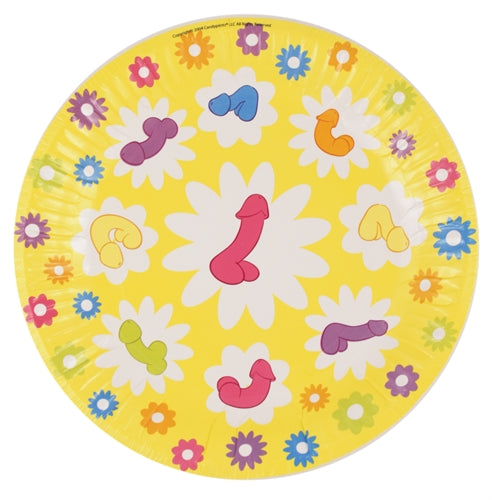 Super Fun Penis Party Plates - 8 Count CP-348