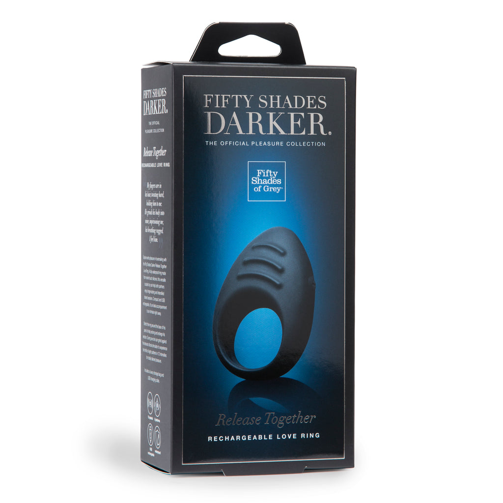 Fifty Shades Darker Release Together USB  Rechargeable Cock Ring LHR-63946