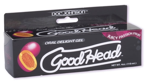 Good Head - Oral Delight Gel - Passion Fruit - 4 Oz. DJ1360-04