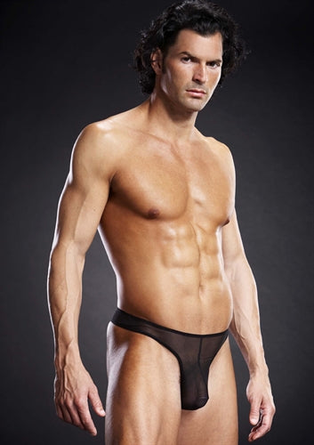 Pro-Mesh Thong - Black - Small-Medium BLM010-BLKSM