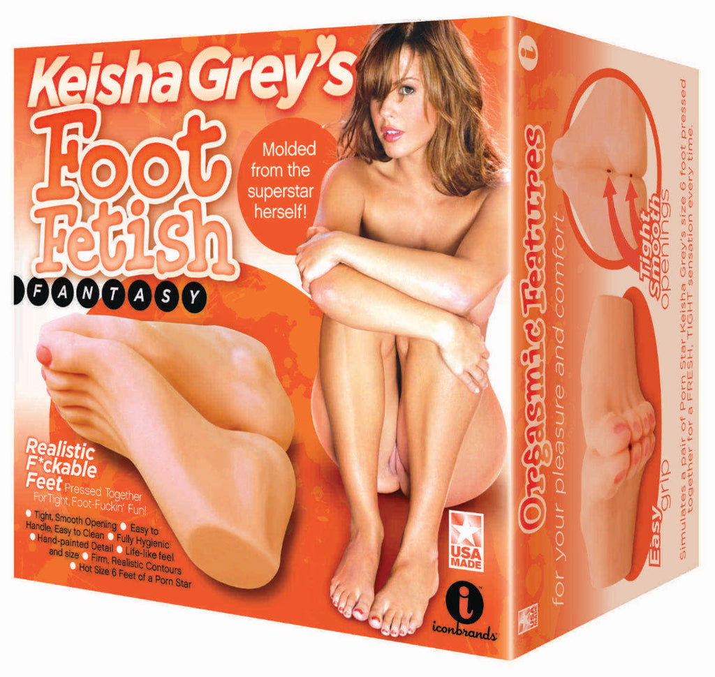 Keisha Grey's Foot Fetish Fantasy ICB3092-2