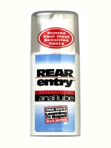 Ona Zee Rear Entry Anal Lube - 3.4 Oz. DJ2180-03