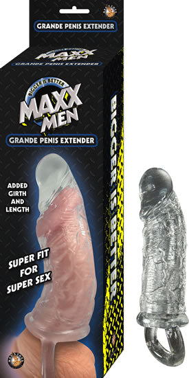 Maxx Men Grande Penis Sleeve - Clear NW2661