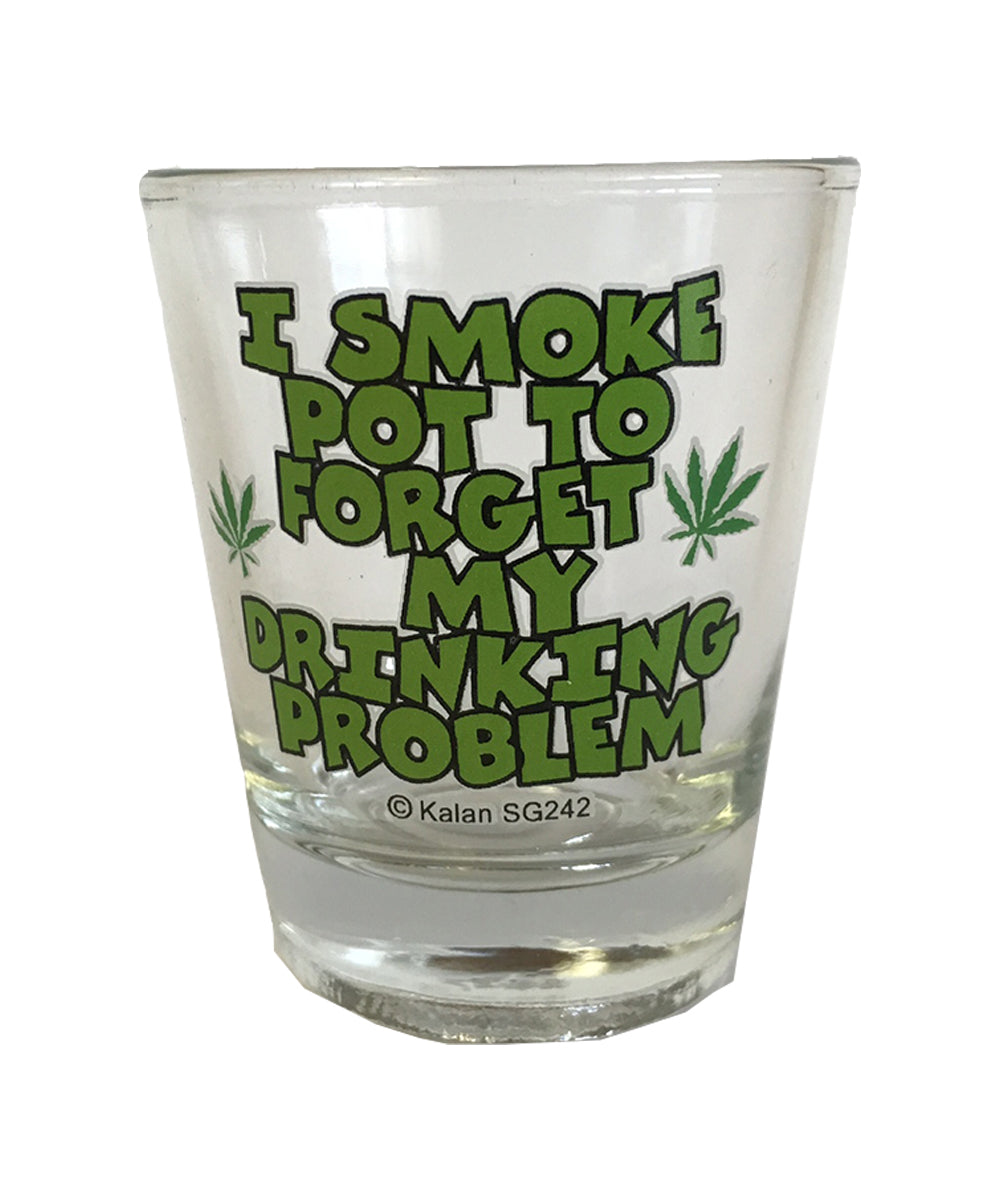Smoke to Forget Shot Glass K-SG242