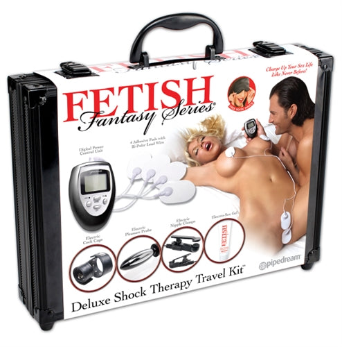 Fetish Fantasy Series Deluxe Shock Therapy Travel Kit PD3723-05