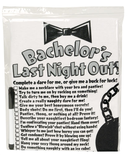 Bachelor's Last Night Out T-Shirt With Marker GFF-201