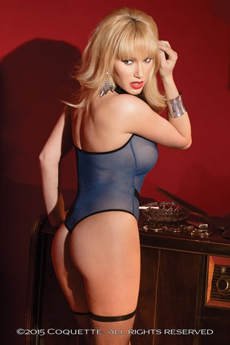 Mesh Cop Teddy - Navy - One Size CQ-2418