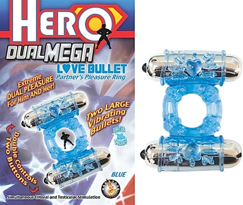 Hero Dual Mega Love Bullet Blue NW2311-1