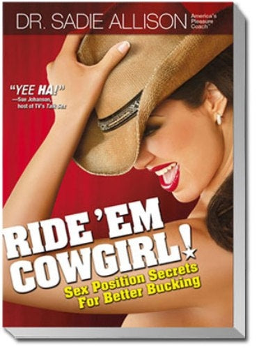 Ride 'Em Cowgirl Book Sex Positions TK8000