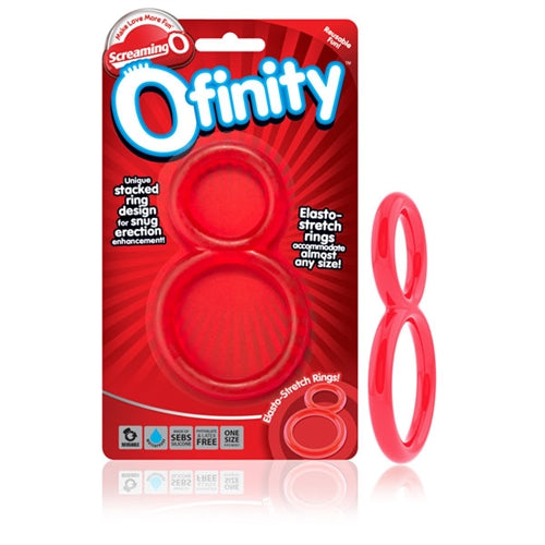 Ofinity Double Ring - Red OFY-R-110E