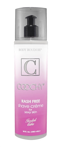 Coochy Rash Free Shave Creme - Frosted Cake - 16 Oz. CE1032-16