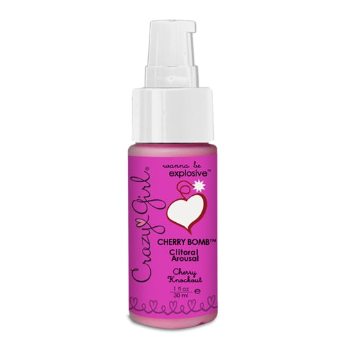 Crazy Girl Cherry Bomb Clitoral Arousal - Cherry Knockout - 1 Oz. CE7701-01