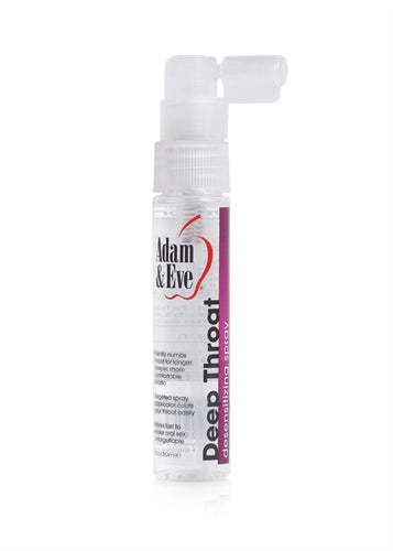 Adam and Eve Deep Throat Spray Desensitizing Spray - 1 Oz. AE-LQ-7908-2