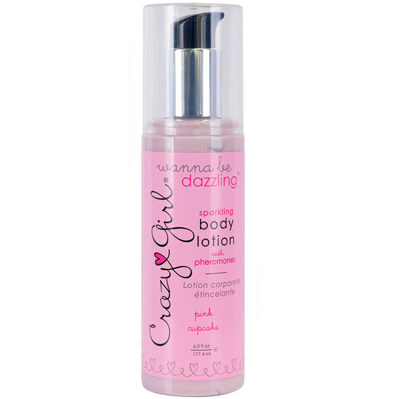 Crazy Girl Body Lotion-Pink Cupcake 6oz