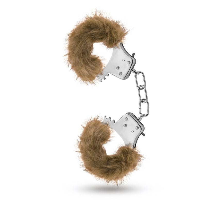 Temptasia - Plush Fur Cuffs - Brown BL-55516