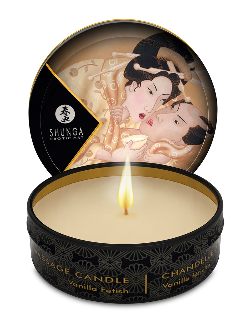 Mini Massage Candle - Desire - Vanilla Fetish - 1  Fl. Oz. SHU4601