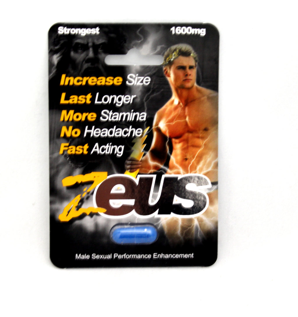 Zeus Male Sexual Performance Pill JSZEUS1