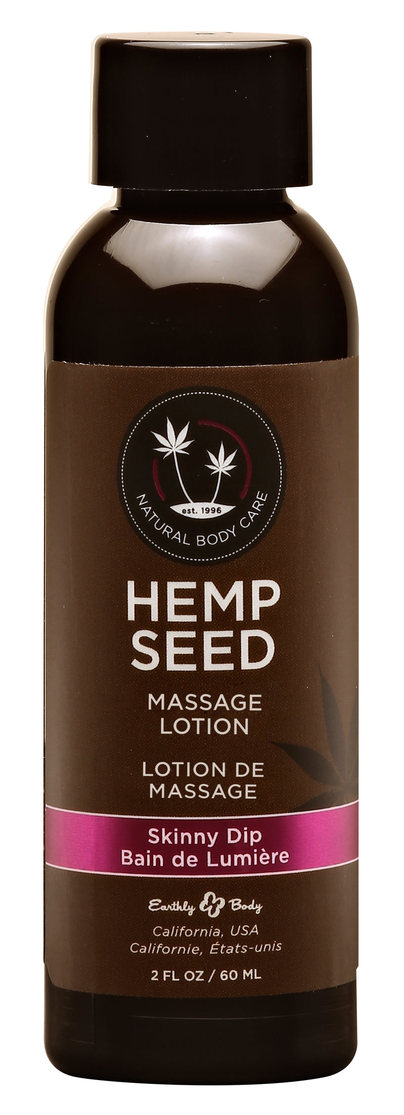 Hemp Seed Massage Lotion - Skinny Dip - 2 Fl. Oz.  / 60 ml EB-ML121