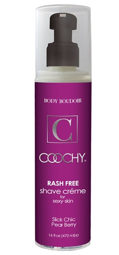 Coochy Rash-Free Shave Creme - Slick Chic Pear Berry - 16 Oz. CE1023-16