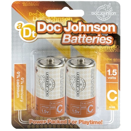 Doc Johnson Batteries - C - 2 Pack DJ0399-06