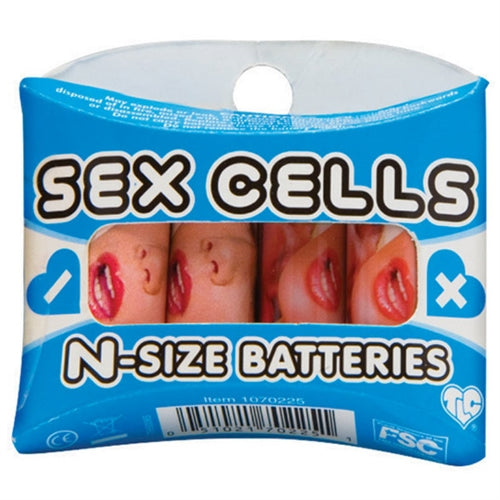Sex Cells N Size Batteries 4 Pack TS1070225