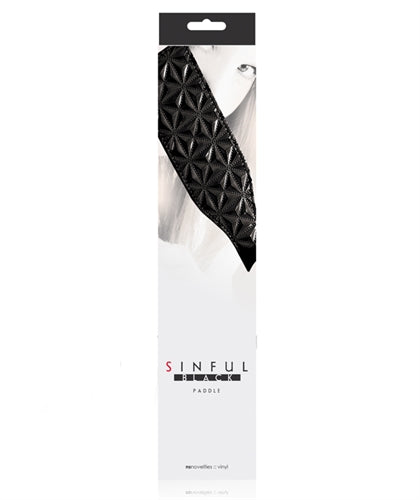 Sinful - Paddle - Black NSN1226-13