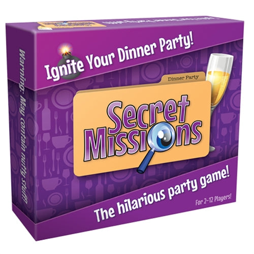 Secret Missions Dinner Party CC-USSMDP