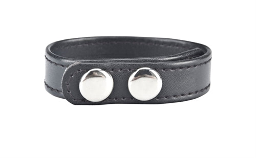 Snap Cock Ring - Black BLM1724