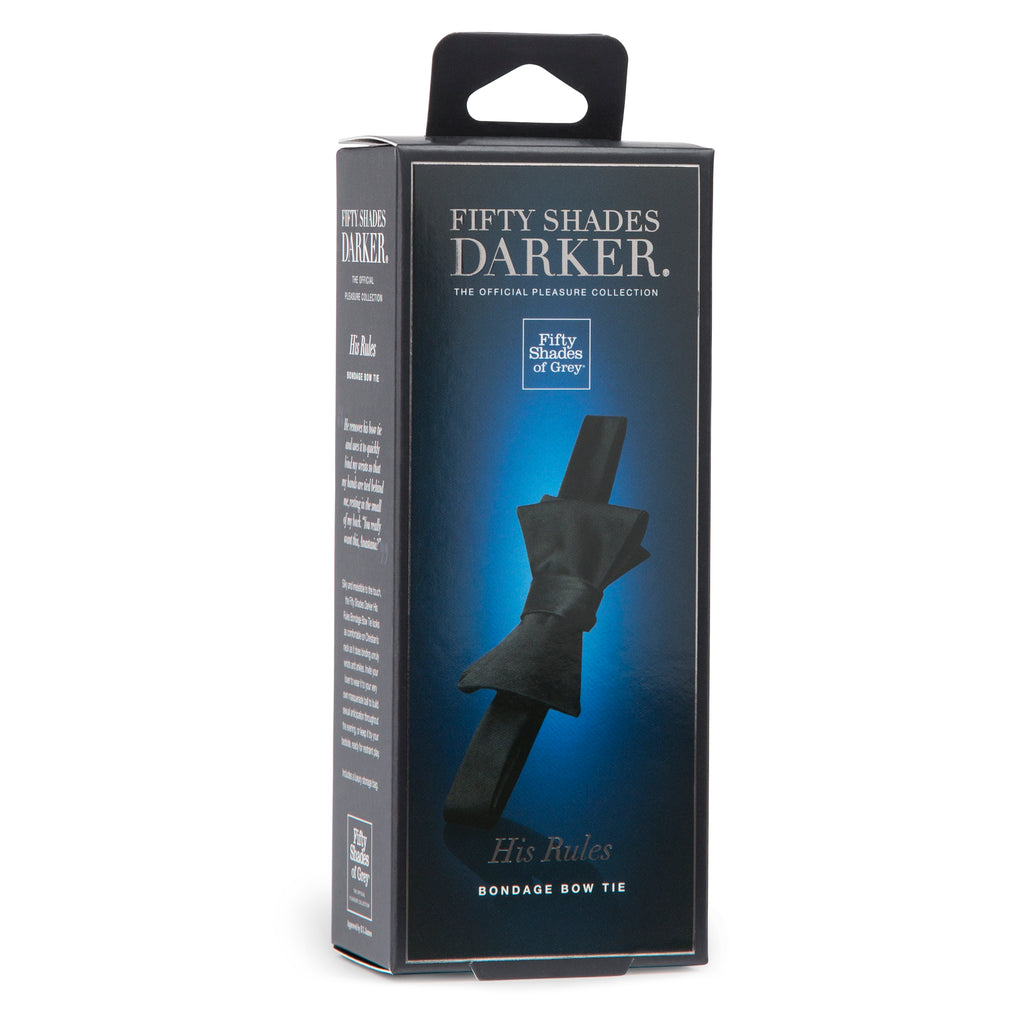 Fifty Shades Darker His Rules Bondage Bow Tie LHR-63955